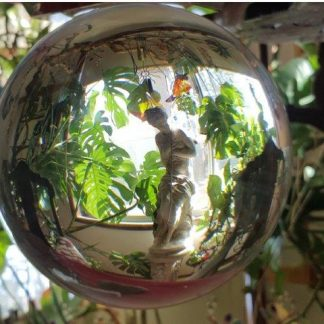Huge Lead Crystal Ball 200 mm Awesome for Display